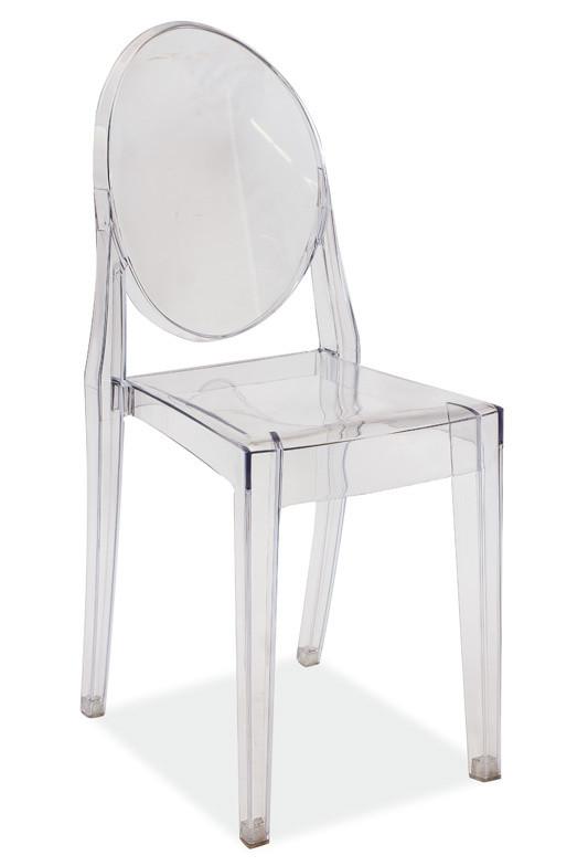 Casarredo Židle MARTIN transparent