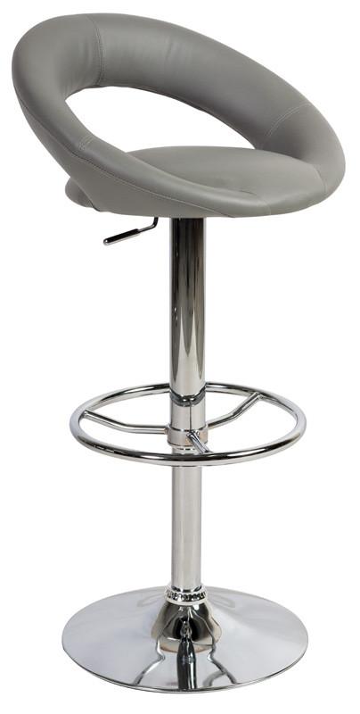 Casarredo Barová židle KROKUS C-300 šedá