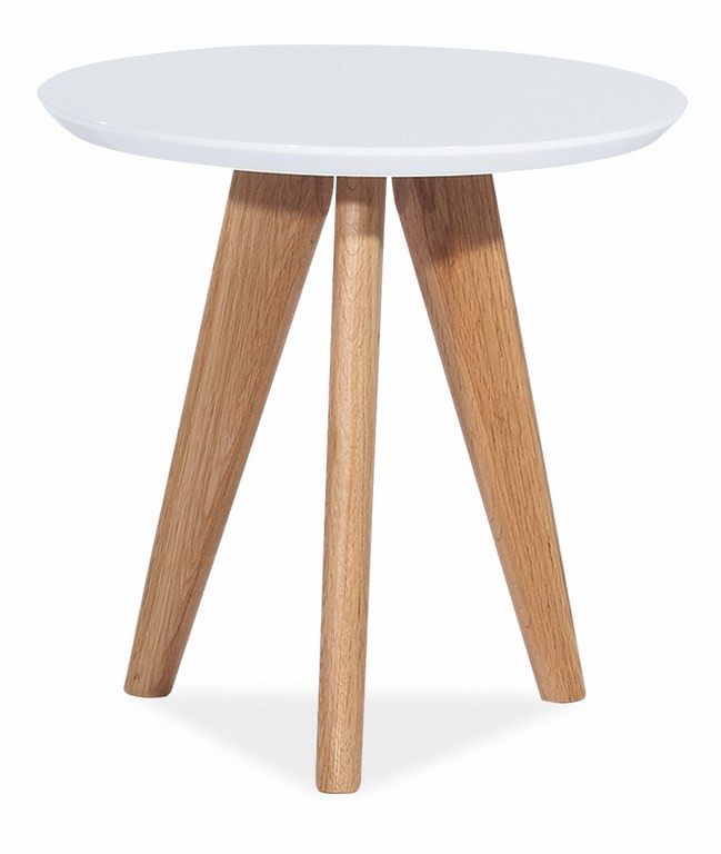 Casarredo Konferenční stolek MILAN S1 bílý