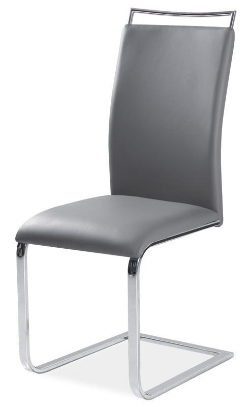 Casarredo Jídelní čalouněná židle H-334 šedá