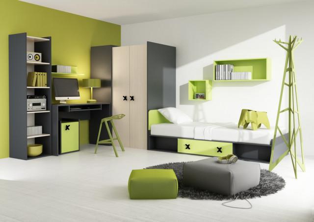 Dětská sestava IKS zelený dekor