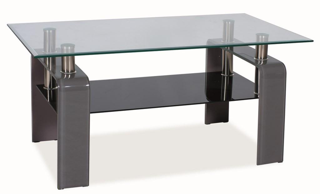 Casarredo Konferenční stolek STELLA - šedý