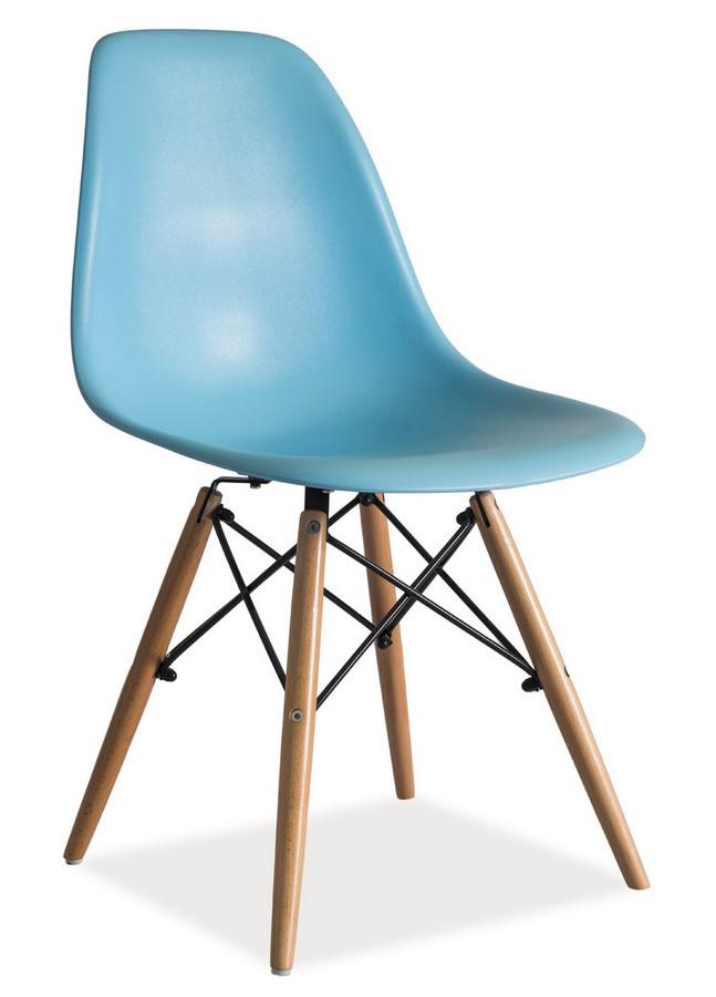 Casarredo Jídelní židle ENZO modrá