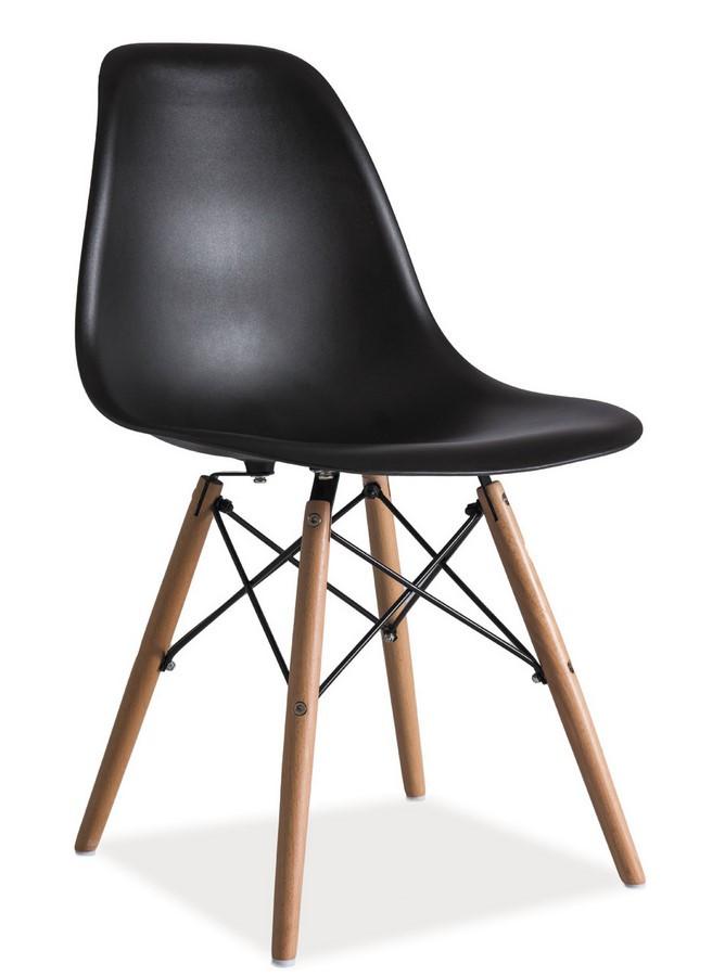 Casarredo Jídelní židle ENZO černá