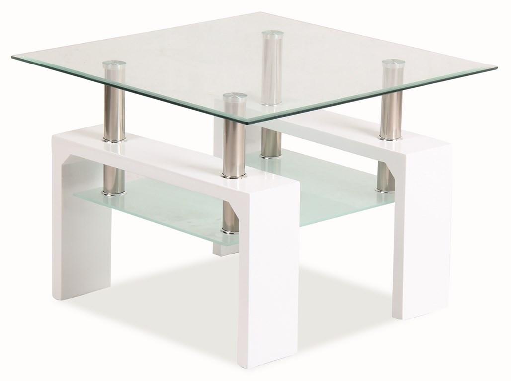 Casarredo Konferenční stolek LISA D BASIC - bílý