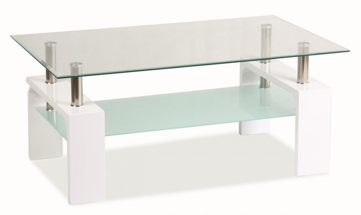 Casarredo Konferenční stolek LISA BASIC - bílý