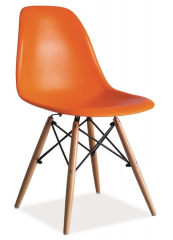 Jídelní židle ENZO oranžová