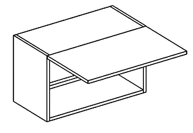 Casarredo WO 60/30 skříňka nad digestoř PREMIUM de LUX olše