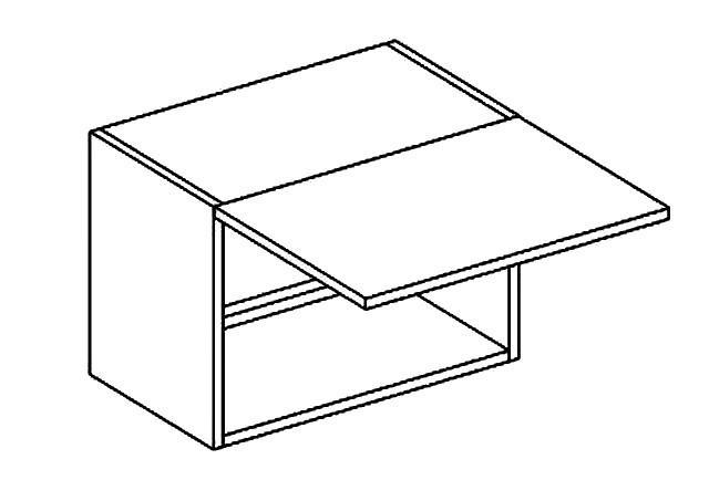 Casarredo WO 50/30 skříňka nad digestoř PREMIUM de LUX olše