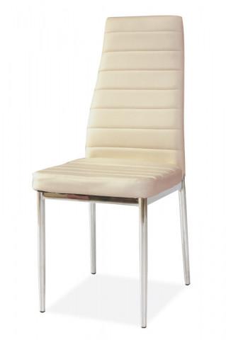 Jídelní čalouněná židle H-261 krémová