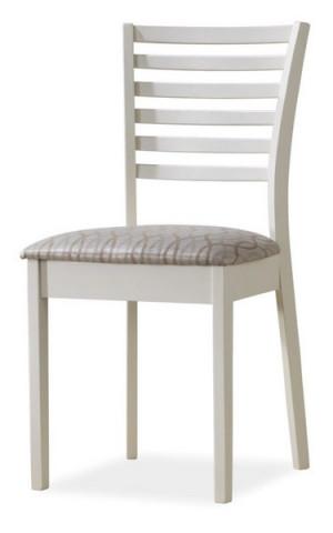 Jídelní čalouněná židle MA-SC bílá