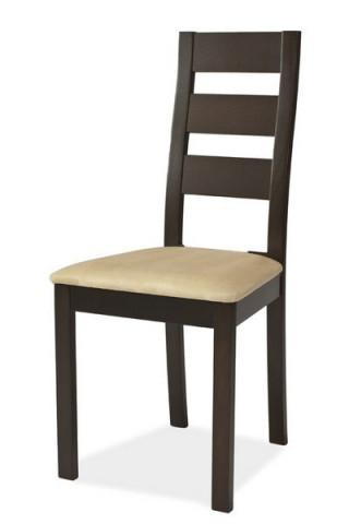 Jídelní čalouněná židle CB-44 wenge/béžová