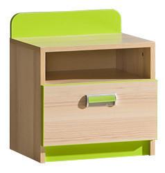 LIMO L12 noční stolek zelený