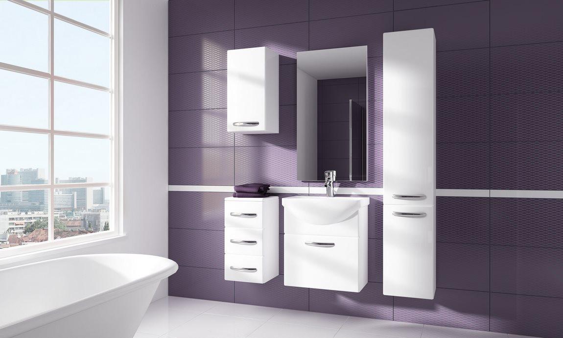 Casarredo Koupelnová sestava CORAL bílá