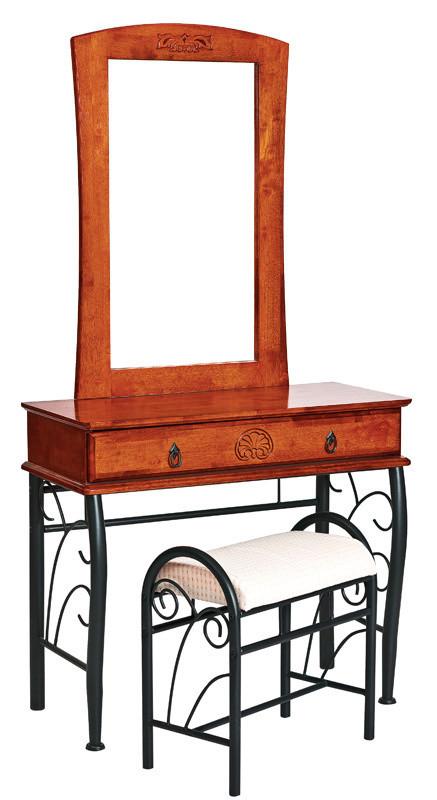 Casarredo Toaletní stolek 1102 se zrcadlem