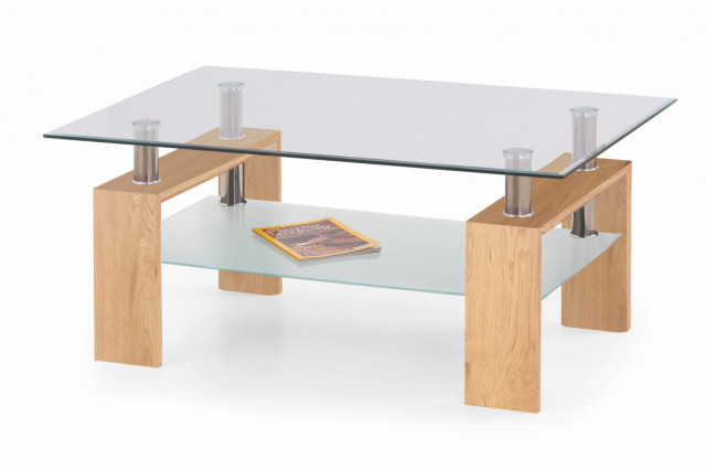 Konferenční stolek Diana Max, dub zlatý
