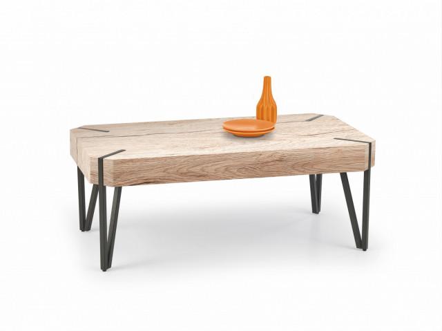 Konferenční stolek EMILY, dub san remo / černá