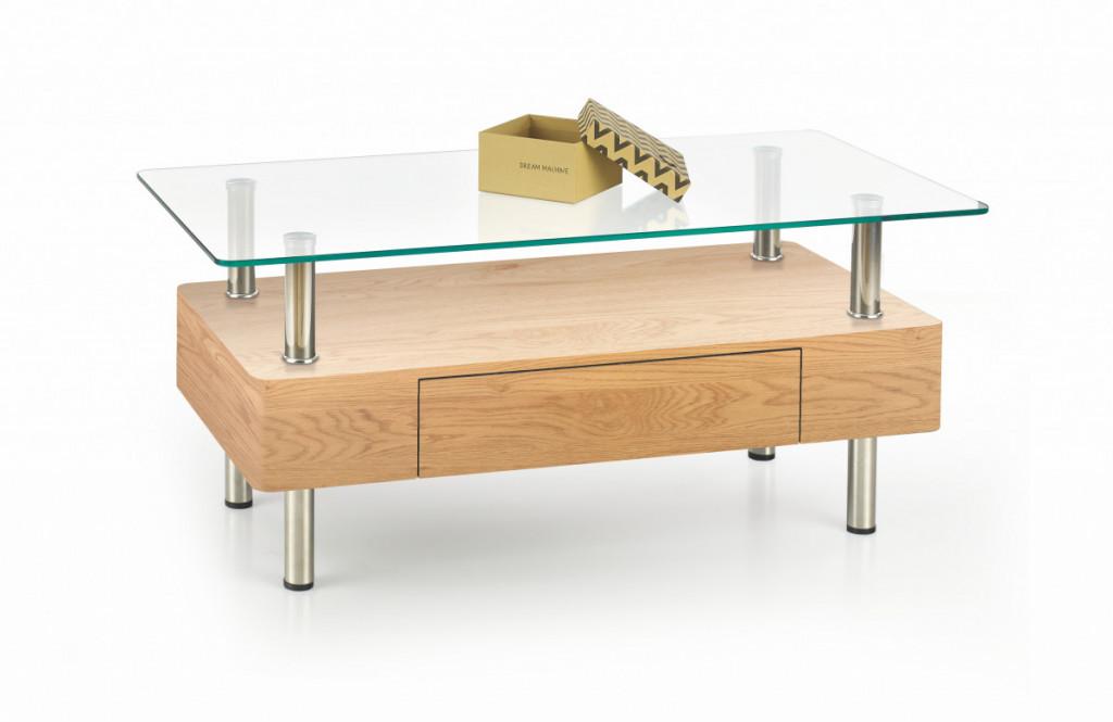 Konferenční stolek Margot, dub zlatý