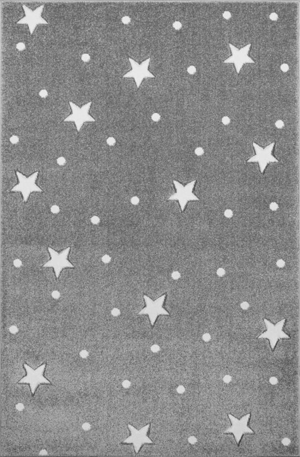 Forclaire Dětský koberec HEAVEN šedý/ bílý 100x150 cm