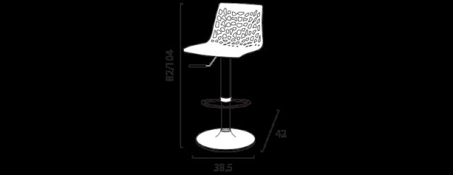 Barová židle Spider č.10