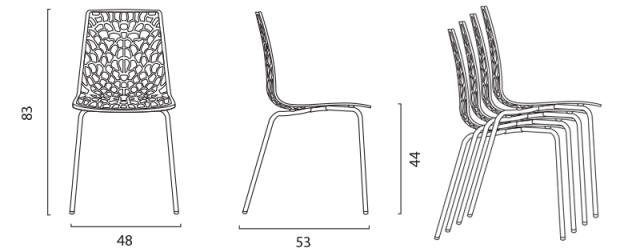 Jídelní židle Groove č.14