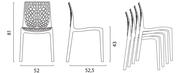 Židle Gruvyer 2 č.19
