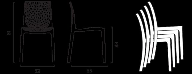 Židle Gruvyer 1 č.7