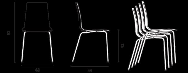 Židle Calima č.6