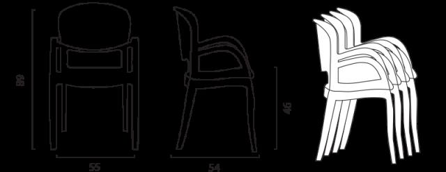 Židle Joker č.5
