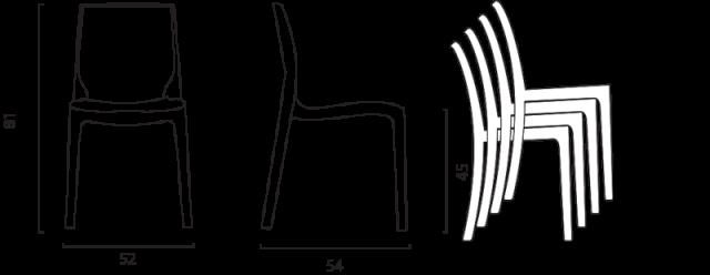 Židle Rome č.15