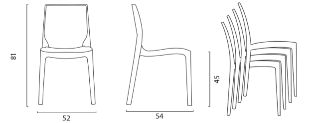 Židle ICE č.13