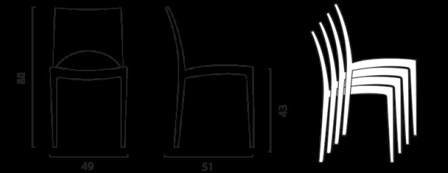 Židle Paris č.9