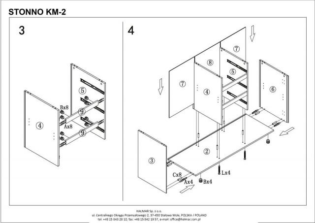 Komoda STONNO KM-2 č.5