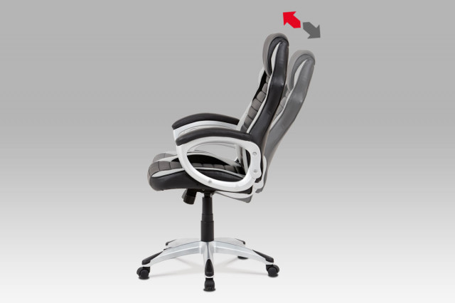 Kancelářská židle KA-V507 GREY č.4