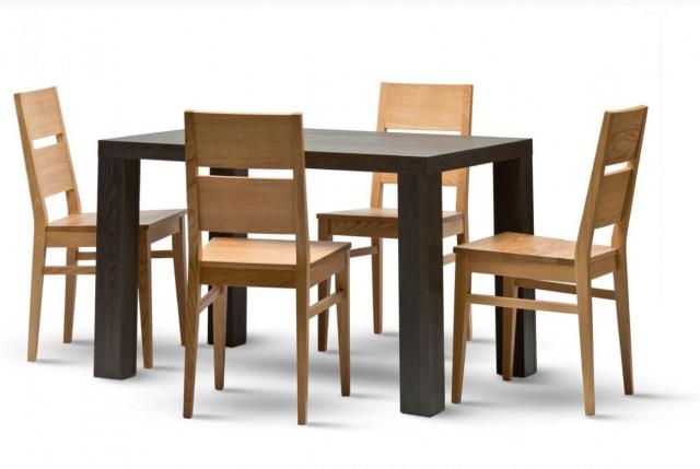 Dřevěná židle Orly - masiv dub č.2
