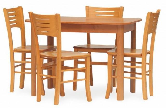 Dřevěná židle Verona masiv - olše