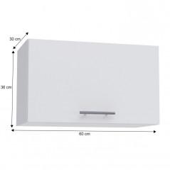 Horní skříňka, bílá, FABIANA W - 60OK č.5