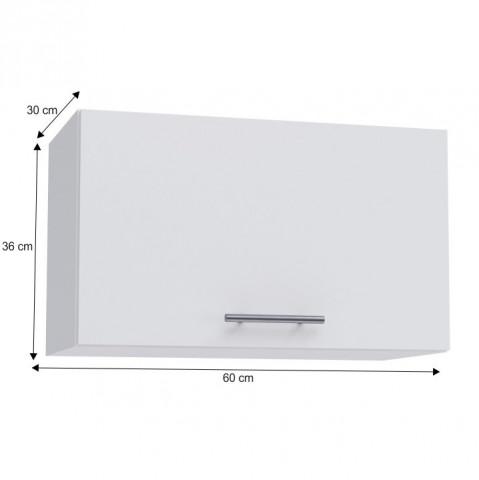 Horní skříňka, bílá, FABIANA W - 60OK č.3
