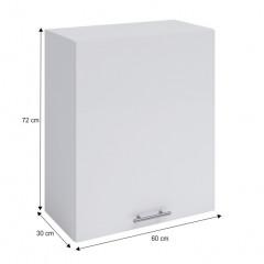 Horní skříňka, bílá, FABIANA W - 60 č.4
