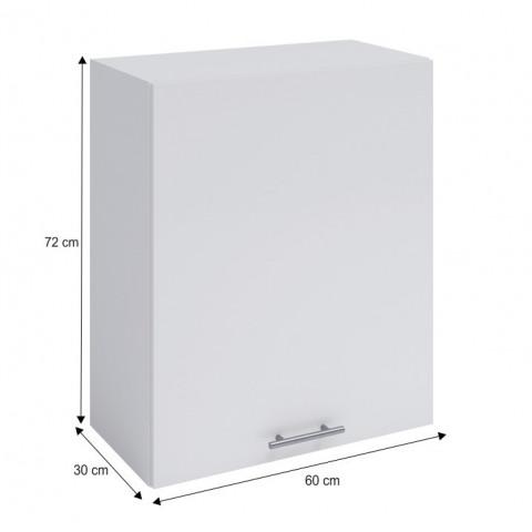 Horní skříňka, bílá, FABIANA W - 60 č.3