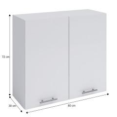 Horní skříňka, bílá, FABIANA W - 80 č.4