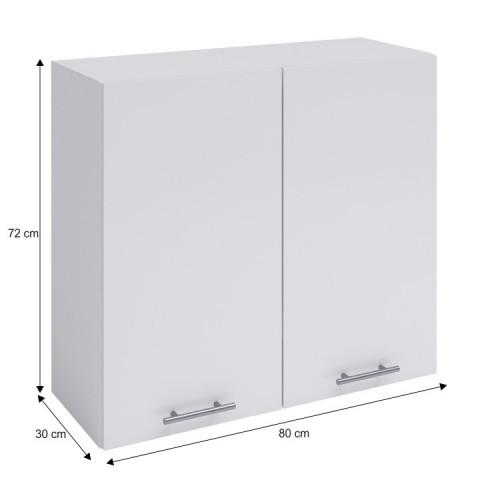 Horní skříňka, bílá, FABIANA W - 80 č.3