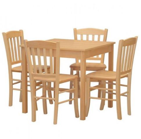 Dřevěná židle Veneta č.6