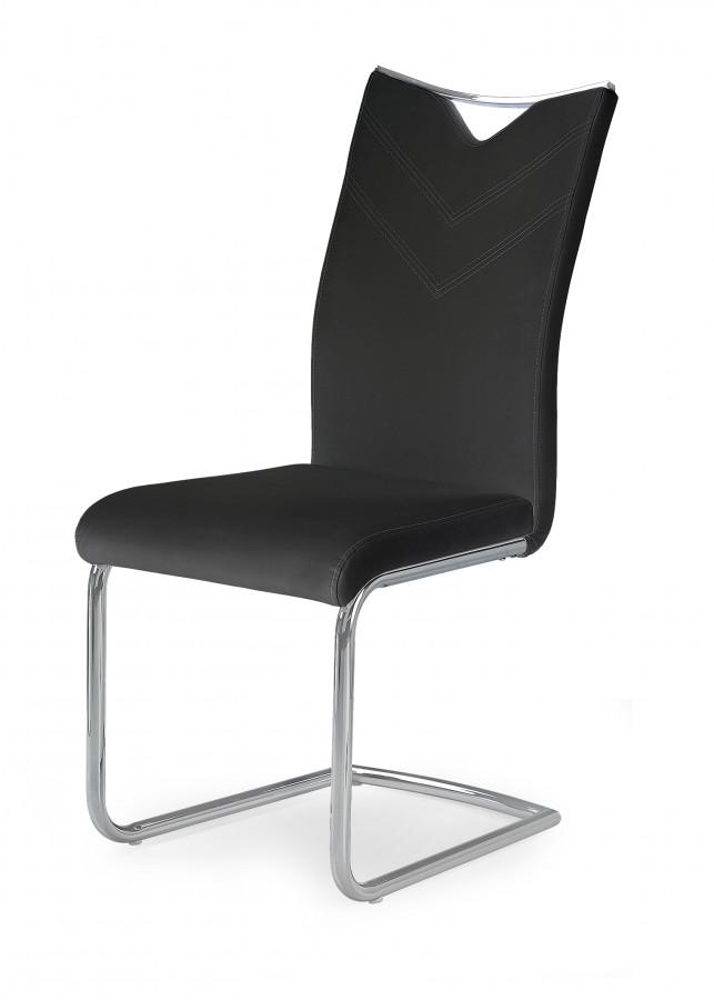 Halmar Jídelní židle K224 - černá
