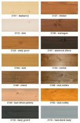 Odstíny barev jsou pouze orientační - vzorník barev na výběr - viz.níže