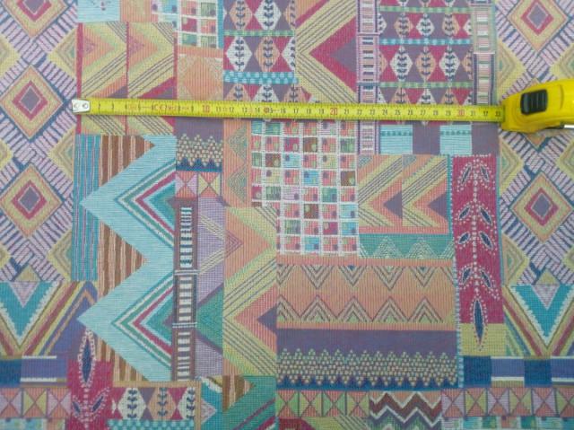 Látka Tribal Congo C/80 č.8