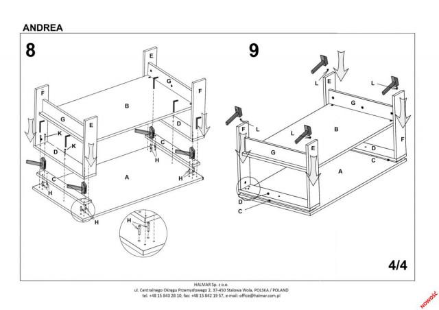 Konferenční stolek Andrea č.6