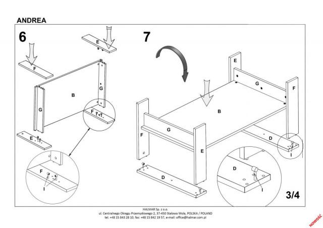 Konferenční stolek Andrea č.7
