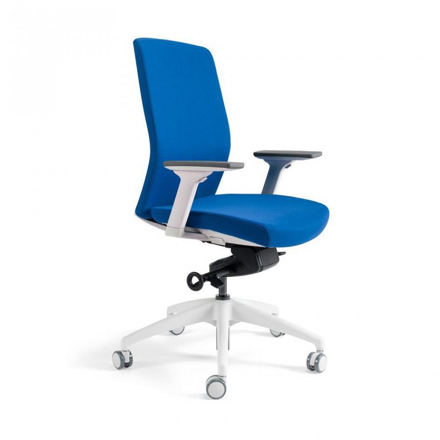 Office Pro Kancelářská židle J2 WHITE BP - tmavě modrá 211