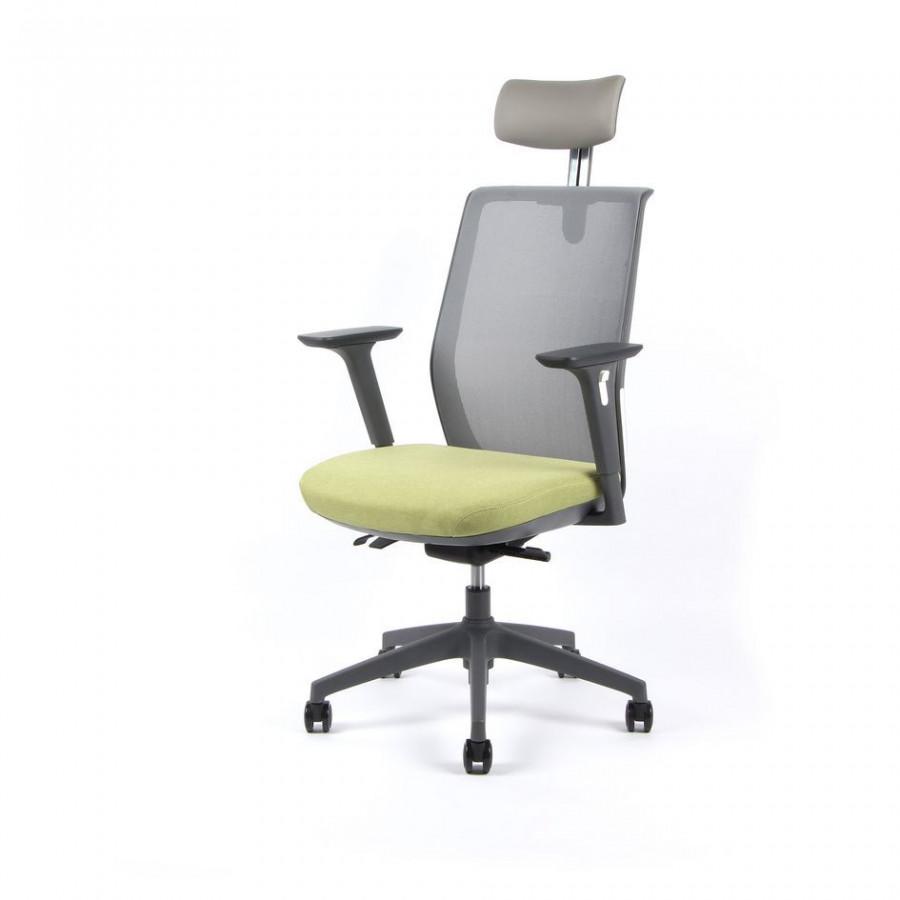 Office Pro Kancelářská židle PORTIA - zelená
